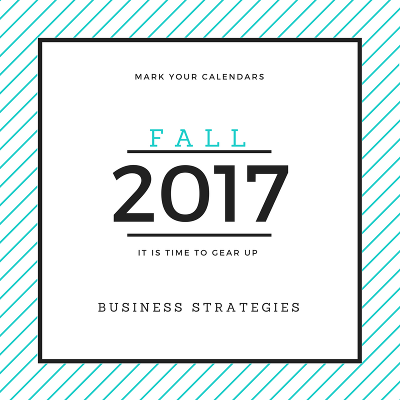 Nutrition Business Owners: Gear up for Fall